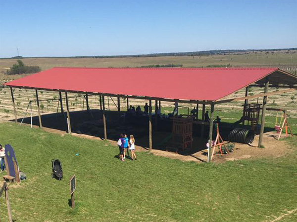 Southern Hill Farms Covered Playground