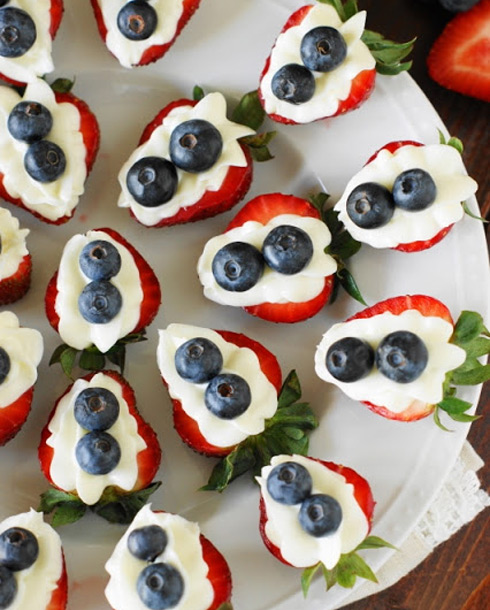 Red, White and Blue(berry) Fourth of July Recipe!